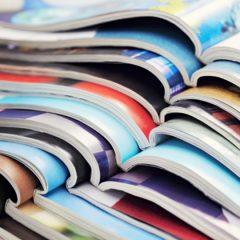 MAGAZINES/NEWSPAPERS/BOOKS